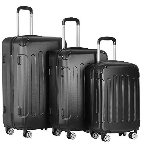 set 4 valigie trolley Vojagor® Set di Valigie - 3 Pezzi