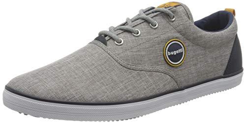 bugatti Herren 321502096900 Sneaker, Hellgrau, 42 EU