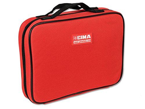 GIMA Maxi Vials Tas, Nylon, Rood, voor flacons opslag en transport