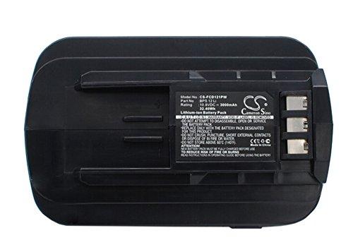 3000mAh Battery Replacement for Festool T12+3 Cordless Drill 494831 495479 BPS 12 Li
