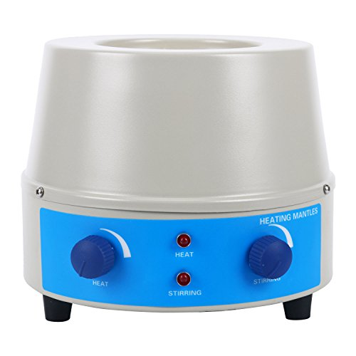 Magnetic Stirrer Heating Mantle 250ml,0~1400rpm,150W, Max 450℃(842℉)