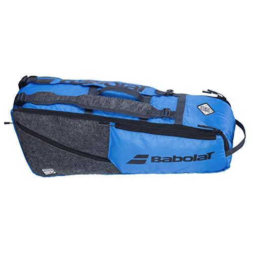 バボラ (Babolat) RACKET HOLDER 6 (テニス用ラケットバッグ 6本収納) EVO (エヴォ) ブルー/グレー 70×30×20cm 751209