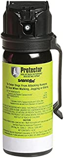 Maximum Strength Protector Pepper Spray Dog Attack Deterrent—All-Natural and Effective