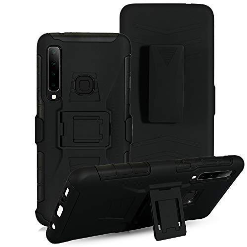 Cocomii Vertex Belt Clip Holster Huawei P30 lite Case, Slim Thin Matte Kickstand Swivel Belt Clip Holster Reinforced Drop Protection Fashion Phone Case Bumper Cover for Huawei P30 lite (Black)