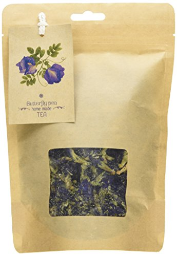 Smileshops Herbal Dried Butterfly Pea Flowers Herb Thai&Pandanus Tea,Blue Tea, Thai Herbals -Take it with Honey and Lemon to Enjoy its Awesome Taste and Revel in The Tasteful Experience it Brings