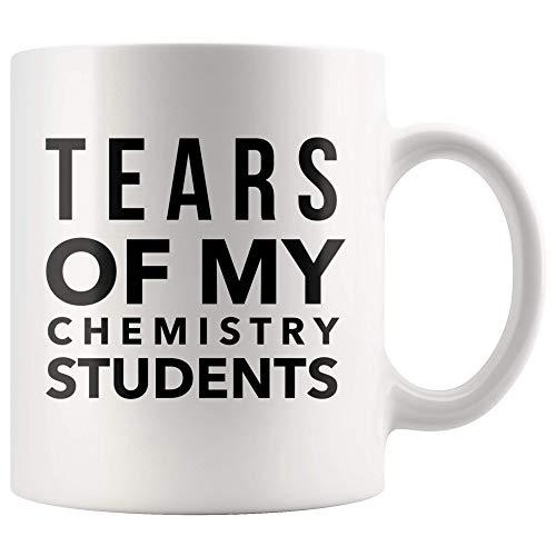 Tears of My Chemistry Students Mug Funny Math Teacher Graduation Coffee Cup 11oz White