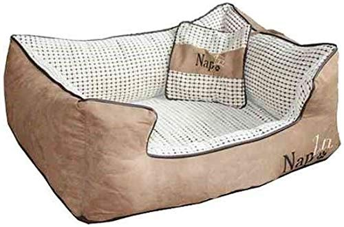 Keddoc Napzzz Divan Mand Hondenkussen Beige - Afmeting: 70 x 50 cm
