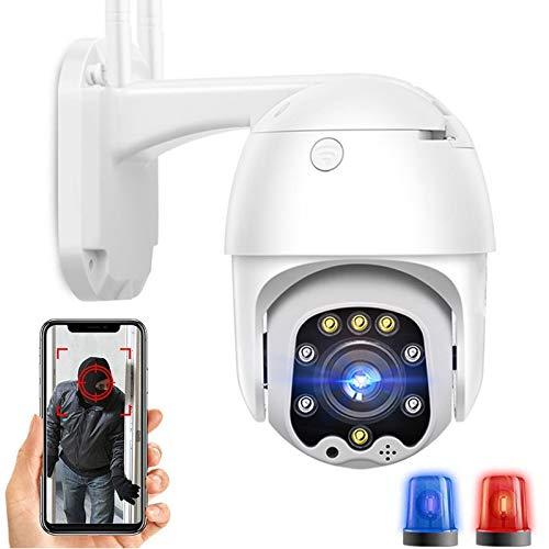 AINSS Telecamera di Sorveglianza IP SIM 3G 4G,Telecamera di Sicurezza PTZ CCTV gsm 1080P HD,IP66 Impermeabile,Visione Notturna 30M,Rilevazione del Movimento,FTP Allarme,Voce a Due Vie (Telecamera 4G)