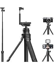 """MT-34 Smartphone Statief Uitschuifbaar Desktop Camera Statief Mini Licht Statief Vlog Statief Selfiestick met 1/4"""" Telefoon Stand compatibel voor Smartphone Camera Light Vloggen (ondersteuning 1,5 kg)"""