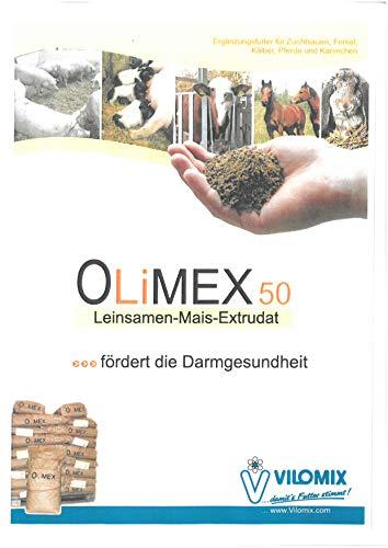 Schkade Landhandel GmbH Olimex 50 (12012) - Ergänzungsfuttermittel für Schweine, Kühe, Pferde, Kaninchen