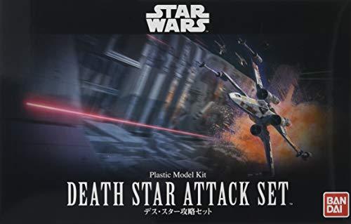 Bandai Hobby Star Wars 1/144 Plastic ModelDeath Star Attack Set Star Wars