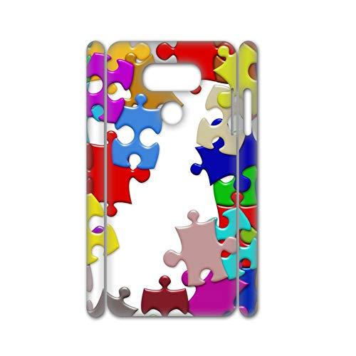 Print Puzzel Kunst Jongen Gebruik Voor V30 Lg Optimus Dunheid Telefoonhoesje Hard Plastics, Choose Design 34-4