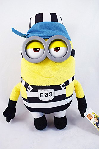 Despicable Me Gevangenis Minion Tim Knuffel
