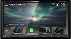 Apple CarPlay is a safer way to use your iPhone in the car. Simply talk to Siri or touch the receiver's display to get directions from Apple Maps, make phone calls, listen to voicemail, send and receive texts, and listen to music, all in a way that a...
