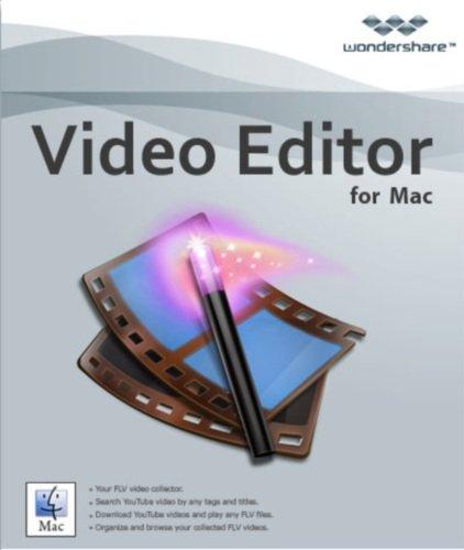 macbook video editing softwares Wondershare Video Editor for Mac [Download]