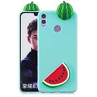 Kompatibles Modell:Speziell entwickelt für Huawei Honor 8X,nicht für anderes Telefonmodell geeignet. Hochwertiges Material:Aus weichem Silikon TPU Material,flexibel und stoßdämpfend,fühlen sich sehr wohl in Ihrer Hand,bieten einen ausgezeichneten Sch...