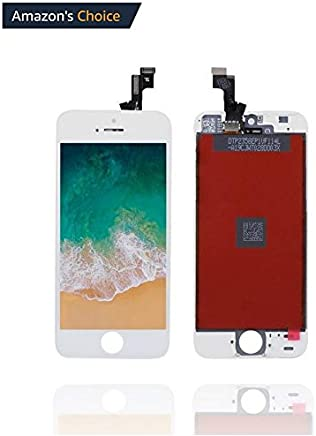 Ecom Hub™ LCD Display + Touch Screen Digitizer Assembly for Apple iPhone 5S : White