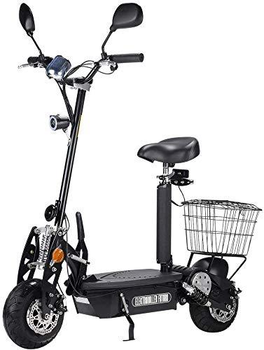 "Elektro Mofa ""Buzzard"" mit Straßenzulassung, 500 Watt, 30km Reichweite, 25 km/h, E-Scooter, E-Roller, Elektroroller, herausnehmbarer Akku, Elektro Scooter, E-Mofa, Produktvideo"