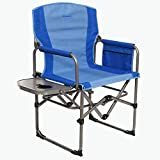Kamp-Rite KAMPCC406 Compact Director's Chair Outdoor Furniture Camping Folding Sports Chair with...