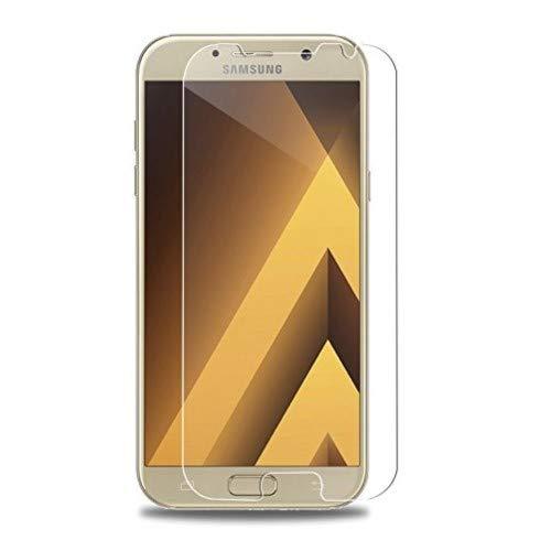 WEOFUN Samsung Galaxy A3 2017 Schutzfolie, [3 Stück] Ultra-klar Panzerglas für Samsung Galaxy A3 (2017) [0.33mm, 9H, Ultra-klar]