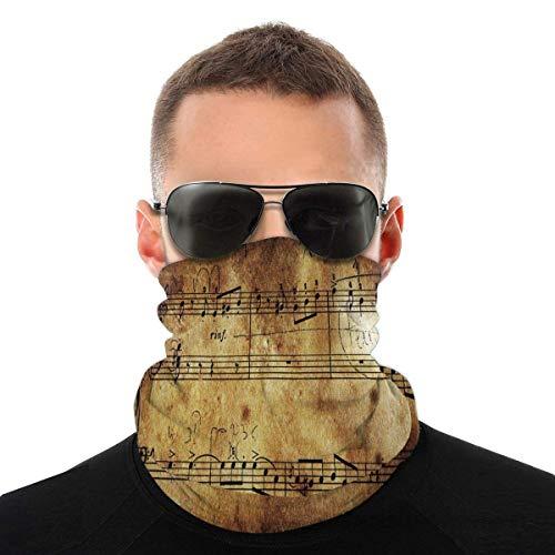 Trista Bauer Musik Hals Gamasche Winddichte Mundabdeckung Komfort Stirnband Hautfreundliches Vollgesichts Stirnband