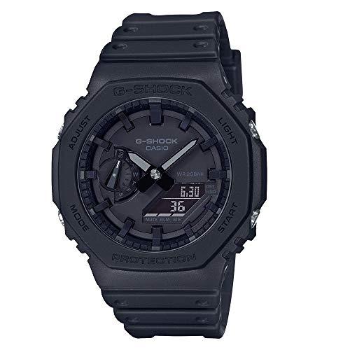 Casio G-Shock Carbon Core Guard Analog-Digital Black Dial Men's Watch - GA-2100-1A1DR(G987)