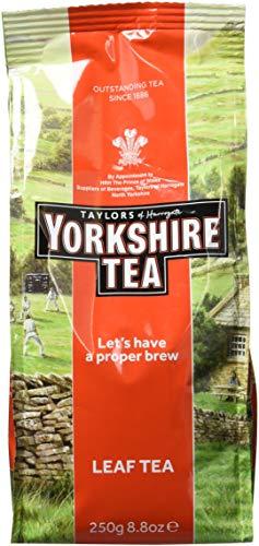 Taylors of Harrogate Yorkshire, Tè Nero Leaf 250g - 1 unitá