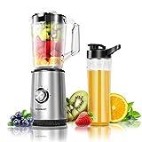 Aigostar Baron - Batidora de vaso individual para frutas, verduras y smoothies