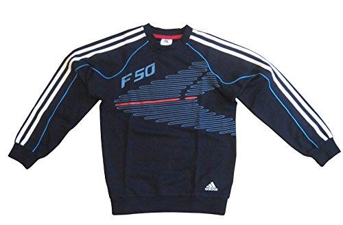 adidas E82589 F50 - Sudadera (talla 128), color negro