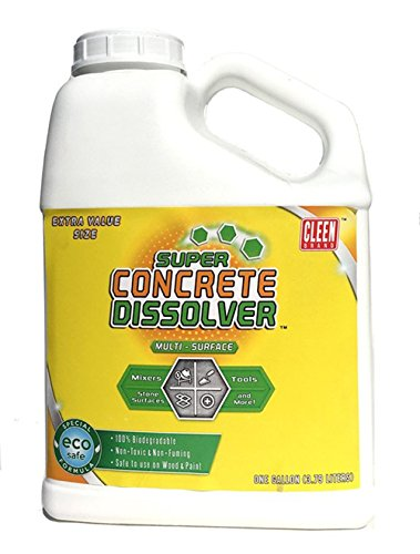 Cleen Products Super Concerete Dissolver 1-Gal. Concrete & Mortar Dissolver