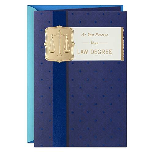 Hallmark Law School Graduation Card (to Be a Good Lawyer)