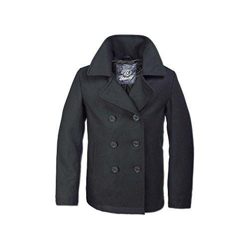 Brandit Jacke PEA Coat schwarz Größe XL