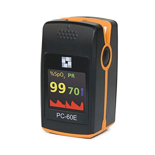 PC-60E - Oxímetro de pulso de dedo ✅
