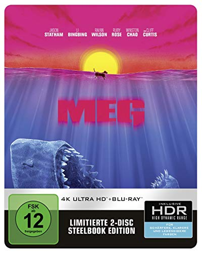 Meg 4K Steelbook (exklusiv bei Amazon.de) [Blu-ray] [Limited Edition]