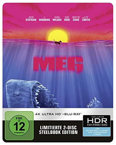 Meg 4K Steelbook (exklusiv bei Amazon.de) [Blu-ray] [Limited Edition]