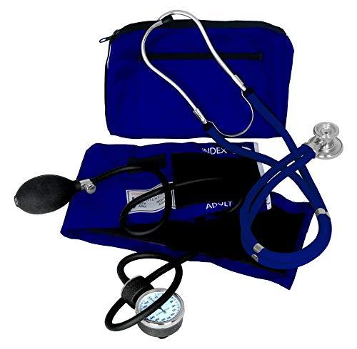 Dixie EMS Blood Pressure and Sprague Stethoscope Kit - Royal Blue