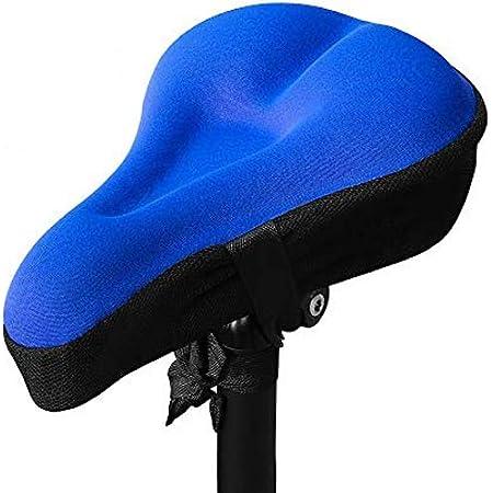 Gel Bike Sitz Fahrrad Sattel Cover Wasserdicht für MTB Kissen Gelüberzug DE