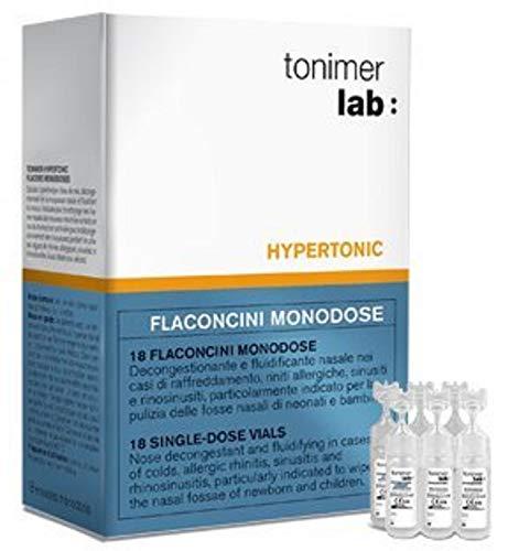 Tonimer Soluzione Ipertonica - 18 flaconcini monodose da 5 ml
