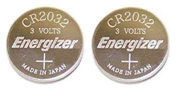 Energizer CR2032 Lithium Battery 3V Coin Cell  Value Pack of 2