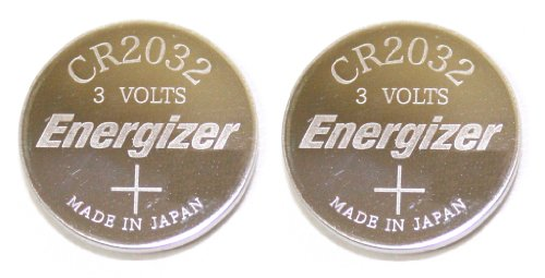 Energizer CR2032 Lithium Battery 3V Coin Cell (Value Pack of 2)