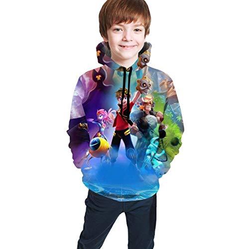 maichengxuan Zak Storm 3 Novelty Youth Hoodie Sweatshirts Trend para Adolescentes