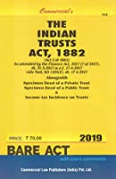 Commercial's The Indian Trusts Act, 1882 - 2021/edition