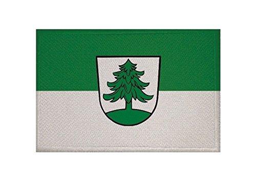 U24 Aufnäher Welzheim Fahne Flagge Aufbügler Patch 9 x 6 cm