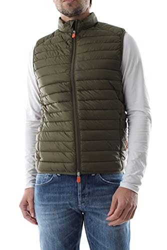 Save The Duck D82410M GIGA12 - Adam Vest Capispalla E Giacche Uomo Dusty Olive M