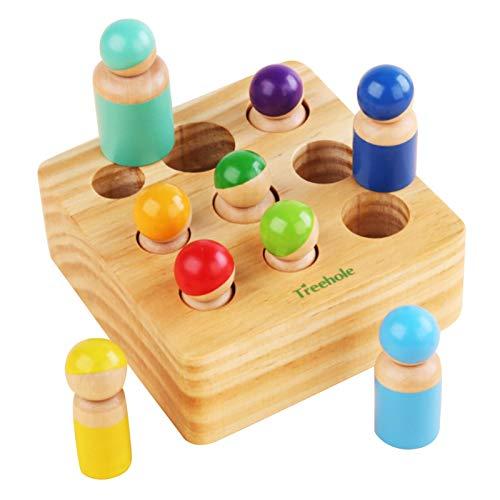 Kindergarten Pädagogische Früherziehung Hand-Auge-Koordination Baustein Spielzeug -Spielzeug EIN
