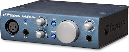 Presonus iOne USB-Audio-Interface für Apple iPad/Mac/PC