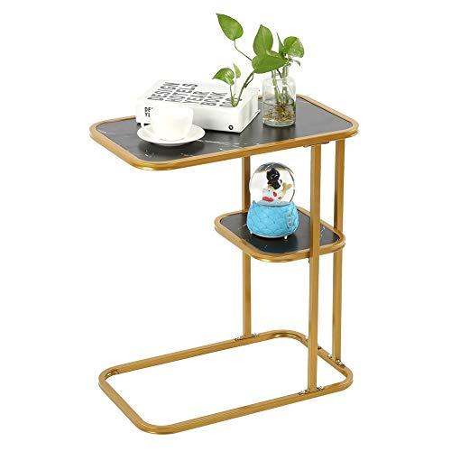 Mesa Auxiliar Moderna en Forma de C, mesas de café y té, Muebles para el hogar, decoración de Sala de Estar, Muebles para el hogar
