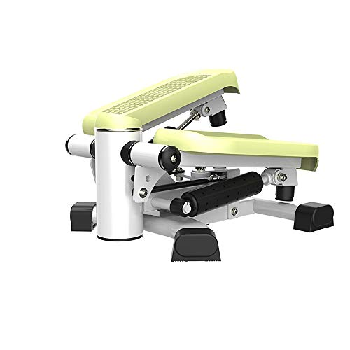 Qilo 2 en 1 Doble Aptitud Paso a Paso-Entrenamiento de la Gimnasia Muslo de la Pierna Talladora de Fitness Paso a Paso con la tecnología patentada tecnología de conmutación (Color : Green)