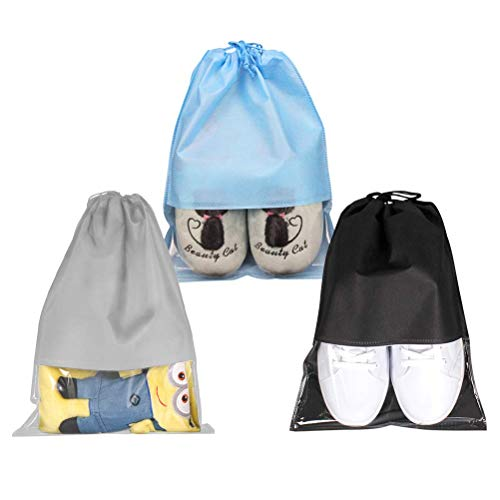 YOTINO 15 Bolsa Zapatos Transparente Grande Prueba