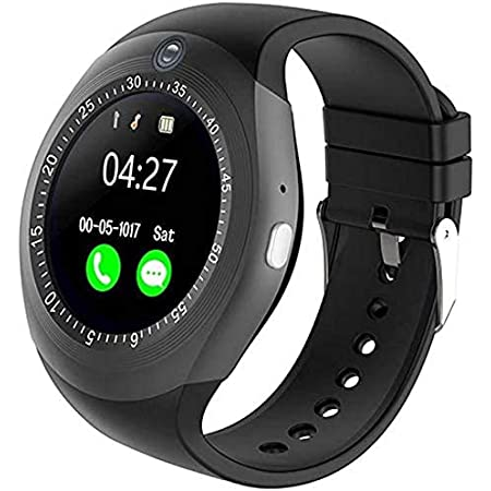 NEFI Smartwatch with Sim Card and Camera for Apps Like Whatsapp and Facebook (Black)